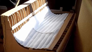 fabriquer un canapé en carton