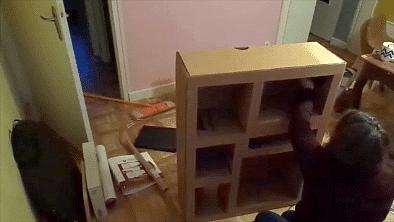 tuto meuble en carton