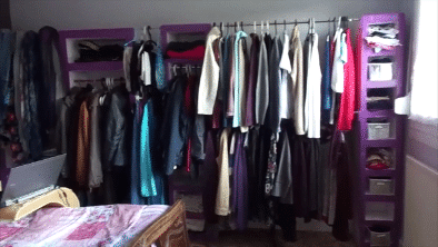 Dans un logement, on peut se faire un méga dressing