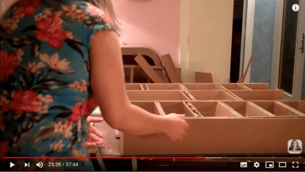 solidité du meuble en carton