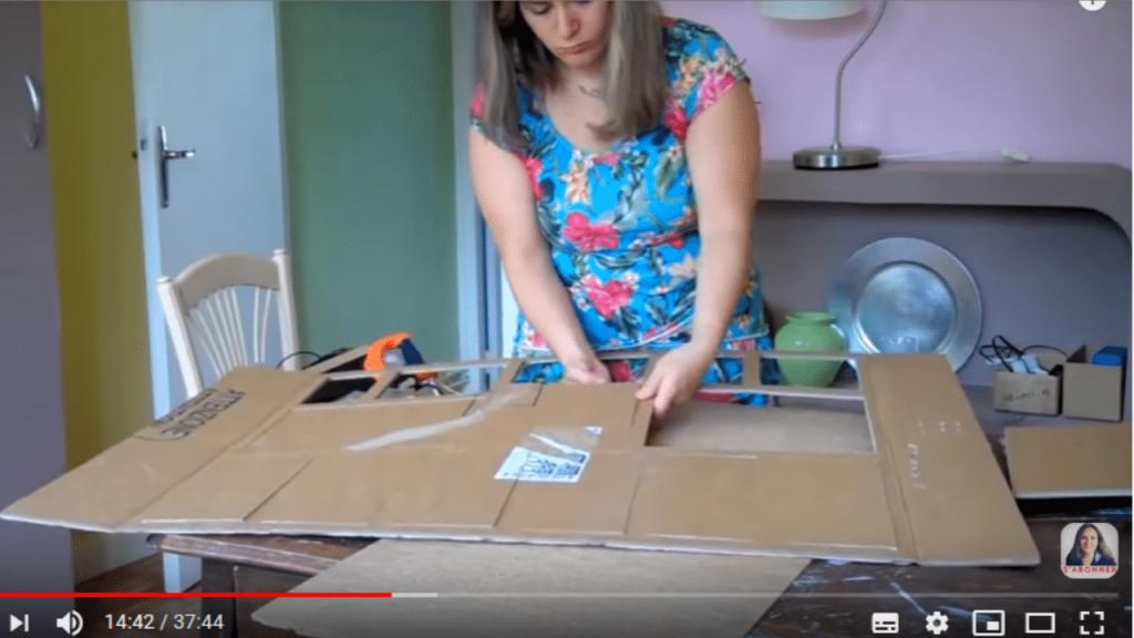 comment faire un meuble en carton